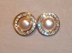 Image Is Loading Fabulous Authentic Vintage Swarovski S A L Crystal Amp Pearl