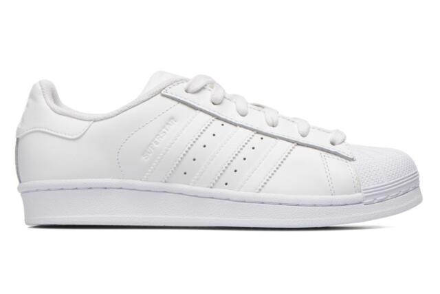 size 40 7e57a 81f9a Donna Adidas Originals Superstar Foundation W Sneakers Bianco
