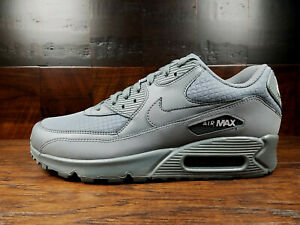 the latest 7a969 7f354 Image is loading Nike-Air-Max-90-Essential-Cool-Grey-White-