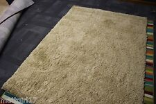 Shaw Living Camel Color  5 X 7 Shag Area Rug with Fee Shipping