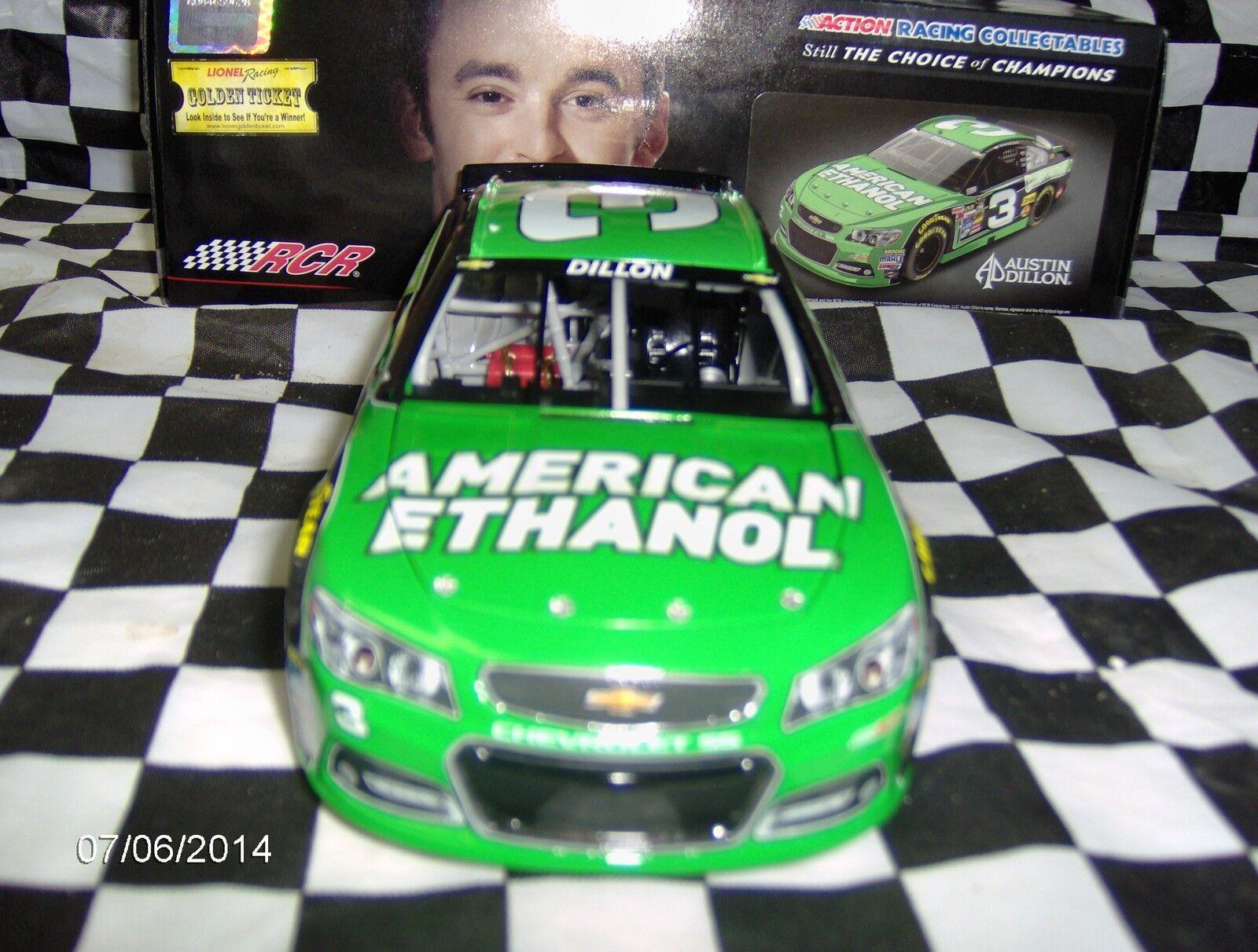 2014 Austin Dillon American Ethanol Rookie 1 24th. 24th. 24th. fa2282