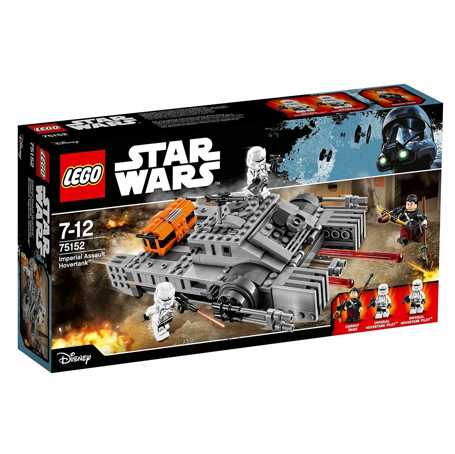 LEGO ® 75152 Star Wars Imperial Assault Hovertank NUOVO OVP NEW SEALED