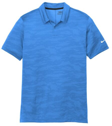 LIGHTWEIGHT JACQUARD POLO SHIRT WAVE MEN/'S NIKE DRI-FIT SHORT SLEEVE XS-4XL