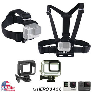 Harness-Head-Chest-Strap-Mount-for-GoPro-Hero-4-3-3-2-1-Chesty-Accessories