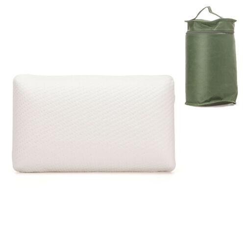 Sanidorm Reisekissen Viskokissen Mini-Kissen mit Tasche 42x24x12 cm