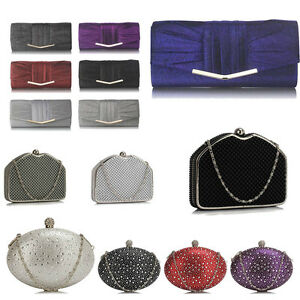 Womens-Beautiful-New-Fashion-Ladies-Designer-Evening-Prom-Party-Clutch-Bags
