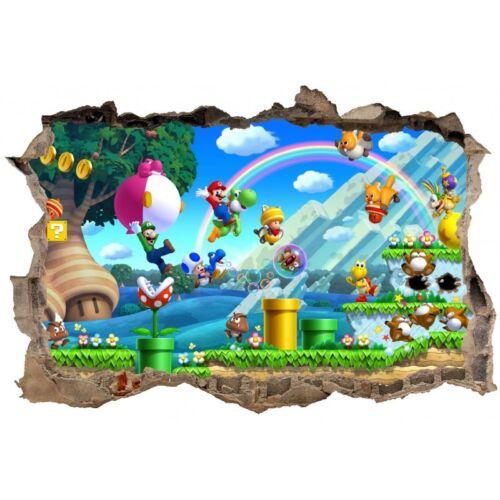 Stickers 3D Mario réf 23624 23624