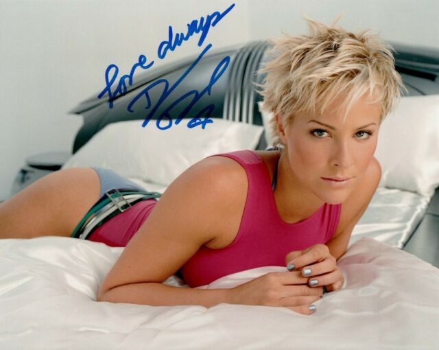 Details about BRITTANY DANIEL hand-signed GORGEOUS & SEXY 8x10 CLOSEUP IN  BED w/ uacc rd COA