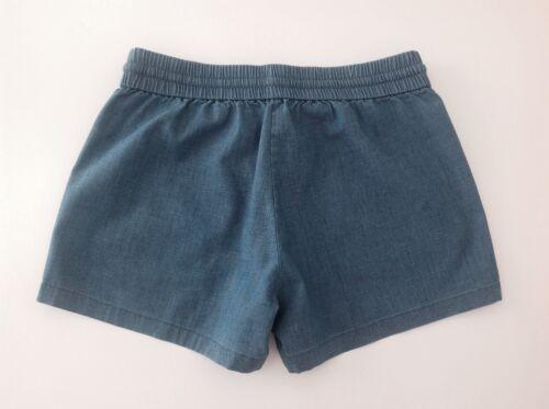 Crew Factory Chambray Drawstring Shorts NWT Size 0-10 J