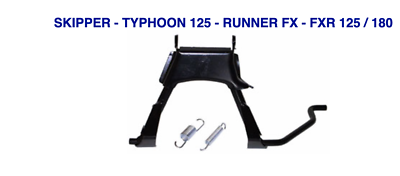 Aggressivo Cavalletto Centrale Skipper Typhoon 125 Runner Fx Fxr 125 / 180 Vedi Lista Ufficiale 2019