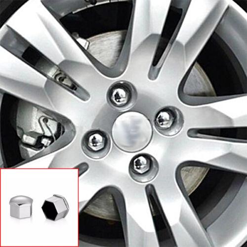 20 x 19 mm Cromo Ruota in Plastica Dado//Bullone Coperture Tappi Per BMW E46 E60 E61 NUOVO