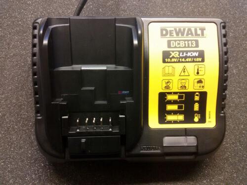 DEWALT Schnellladegerät DCB113 10,8-18,0 V  1,3-5,0 Ah Nachfolger DCB100 DCB112