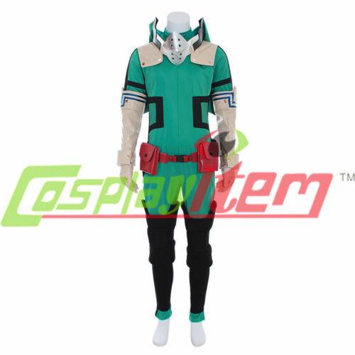 My Hero Academia Izuku Midoriya Cosplay costume Deku Battle outfit Costume{NEW}