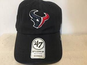 Image is loading Houston-Texans-47-Brand-NFL-Strapback-Adjustable-Cap- a1810ab10557