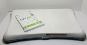 Nintendo Wii Fit Game with Balance Board Free Shipping
