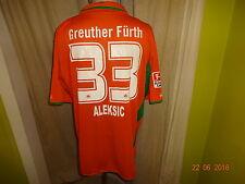 SpVgg Greuther Fürth Jako Auswärts Matchworn Trikot 10/11 + Nr.33 Aleksic Gr.XXL