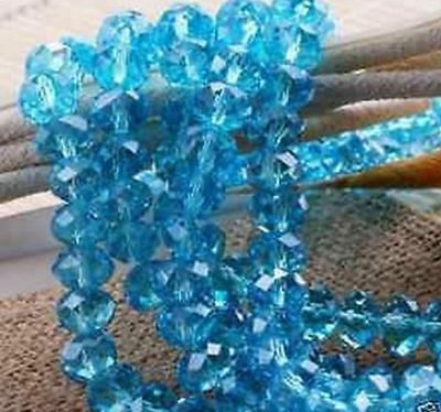 New Multicolor Swarovski Crystal Gemstone Beads 4x6mm 6x8mm