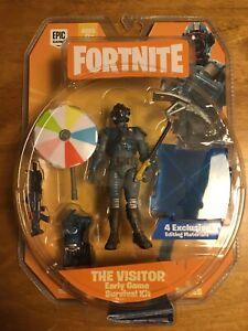 """Fortnite Early Jeu kit de survie le visiteur intentions Unkown 4/"""" Figure FNT0107"""