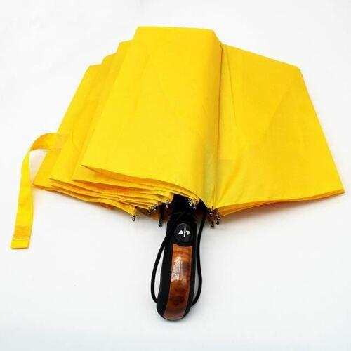 MASCHIO Automatico Ombrello pioggia donna anti UV ombrellone ANTIVENTO Uomini Pieghevole Auto Woo
