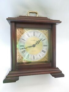 Details About Howard Miller Mantel Clock Quartz Dual Chime Movement Wood Gl