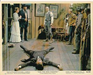 RANDOLPH-SCOTT-JOEL-MCREA-Original-Vintage-RIDE-THE-HIGH-COUNTRY-MGM-Color-Photo