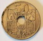 Spain 1949 50 centimos coin