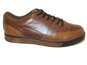 DREW-Hampton-Brown-Leather-Oxford-Sneakers-Mens-USA-Sz-8-Wide