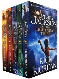 Percy-Jackson-amp-the-Olympians-5-Children-Book-Collection-Set-Series