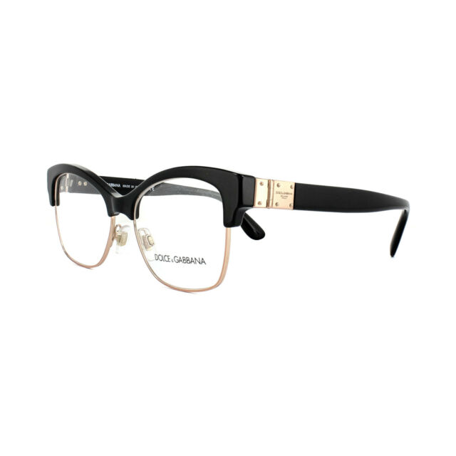 96d7efd6ad2 Dolce   Gabbana Eyeglasses Dg3272 501 Black 52mm for sale online