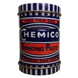 Chemico-Valvula-pasta-Fine-amp-grueso-grado-de-molienda-en-una-lata-de-doble-punta-100g