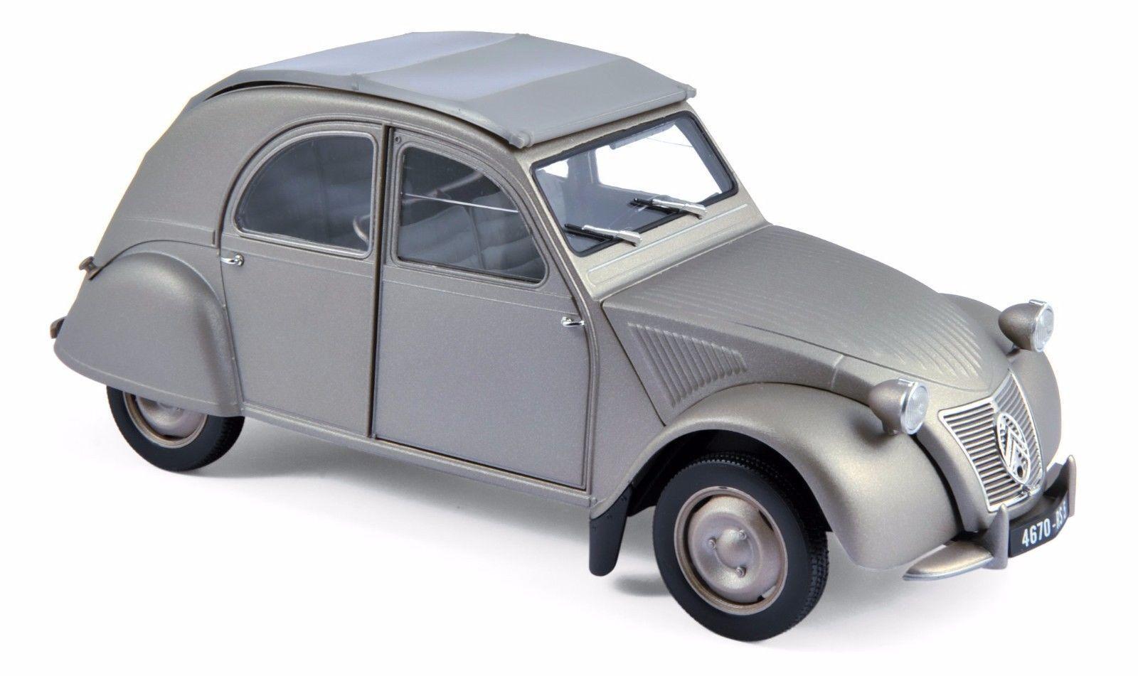 Norev 1950 Citroen 2cv A 1 18 Druckguss Modelauto Model 181497gry