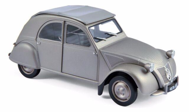 Norev 1950 Citroen 2cv a 1/18 Coche de Metal Modelo 181497gry