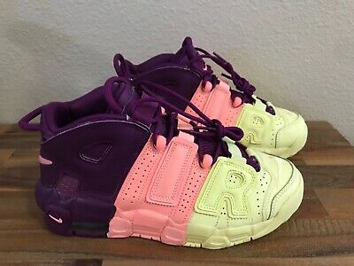 Nike Air More Uptempo GS Citron Pink