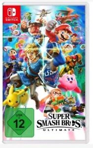 Super Smash Bros Ultimate Switch ( Nintendo Switch) DHL PAKET NEUWARE