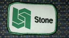 """STONE Patch Iron or Sew-on 3""""X2"""""""