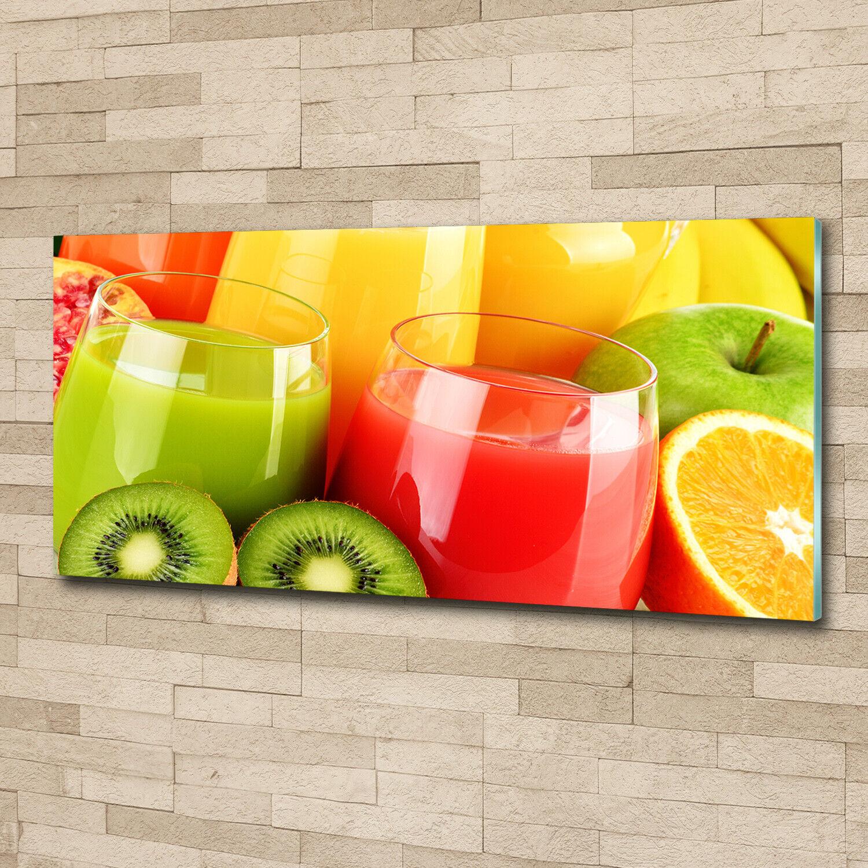 Acrylglas-Bild Wandbilder Druck 125x50 Deko Essen & Getränke Fruchtsäfte