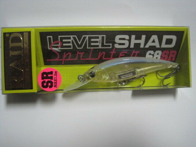 RAID JAPAN LEVEL SHAD SPRINTER 68SR SHIRAUO color NIP