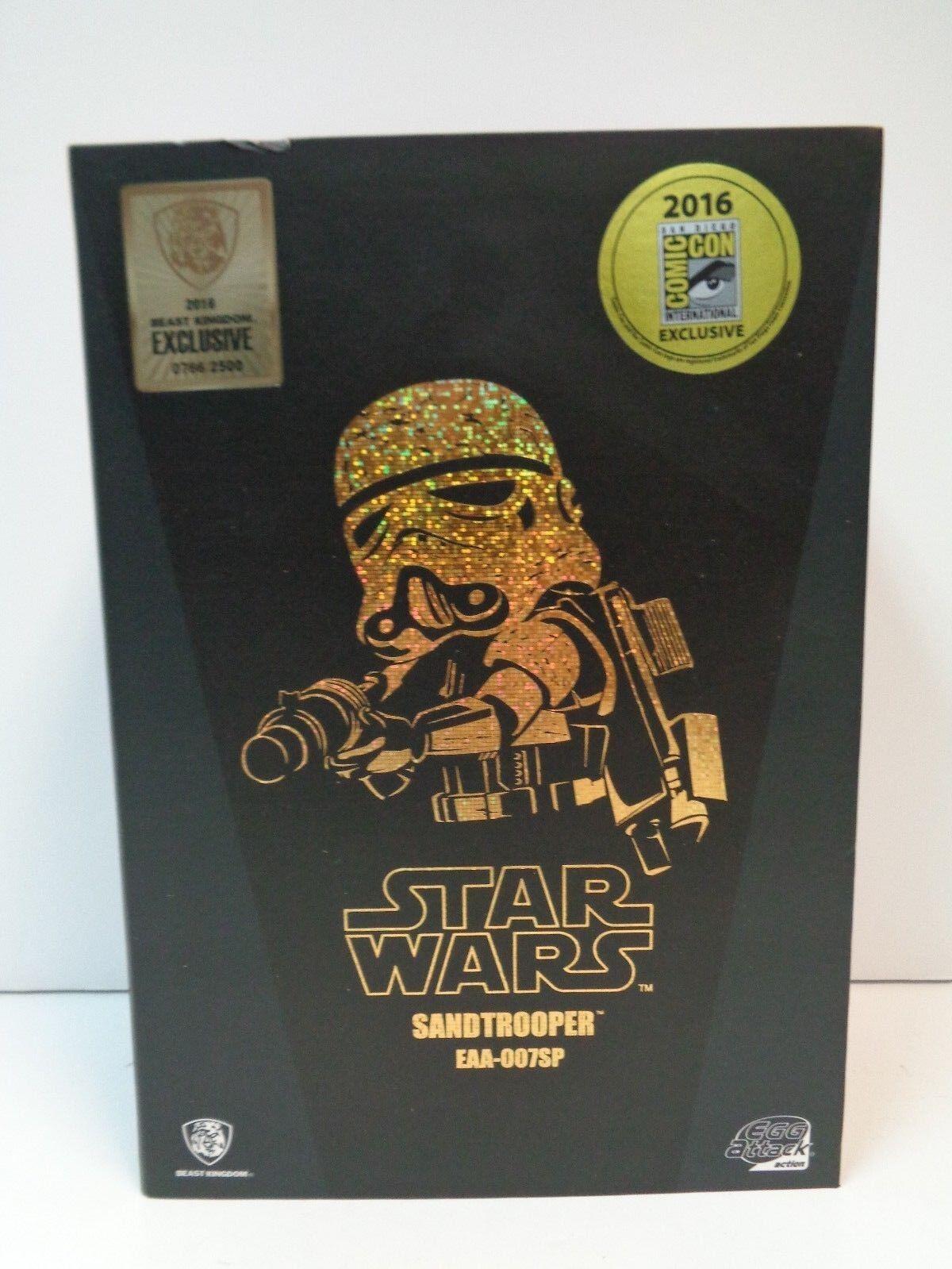 Star Wars SANDTROOPER SANDTROOPER SANDTROOPER EAA-007SP - 2016 Beast Kingdom Exclusive 0766 2500 SDCC a1189b