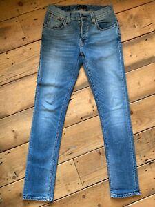 Nudie-Jeans-W30-L32-Grim-Tim-Org-Crispy-Used-Denim-PERFECT-CONDITION