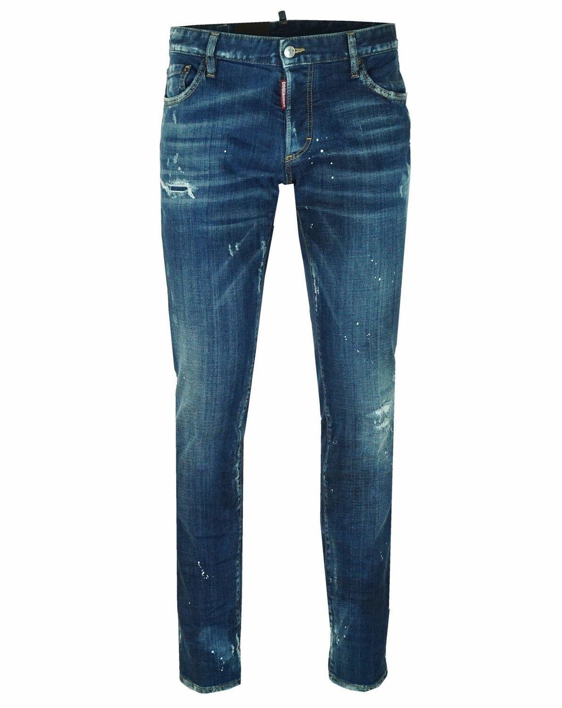 DSQUArot² S74LB0083 Slim Jean Herren Herren Herren Men Jeans Hose Made in  IT50  IT52 3f09ad