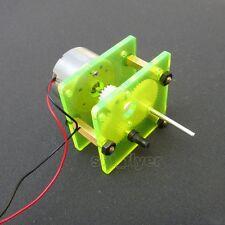 Reduction Gear Box Reducer Motor For Robotic Car Solar toys DIY