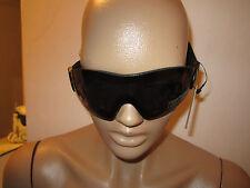 Motorcycle Skydive Protective Goggles Googles Smoke Padded ATV QUAD 4 Wheeler