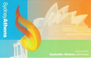 Australia-Post-Design-Set-MNH-2000-Australia-Greece-Olympic-Joint-Issue