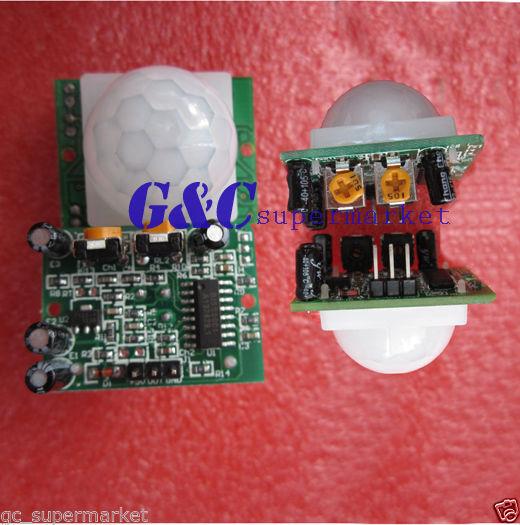 10PCS HC-SR501  Pyroelectric Infrared  PIR Motion Sensor Detector Module
