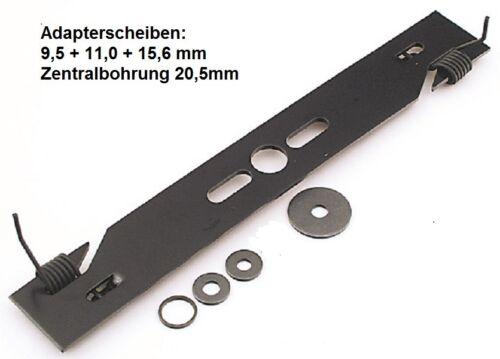Rasenmäher Kraftharke 41-46 cm Vertikutiermesser Vertikutierbalken Bo 9,5 /> 20,5