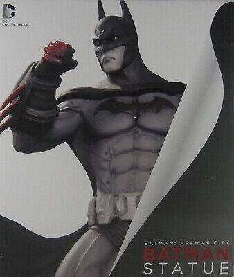 Batman Arkham City Asylum Statue DC Direct Collectibles Dark knight BRAND NEW