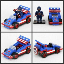 Wolverine Minifigure and Buildable Car Building Block Toy 48+pcs USA SHIPPER