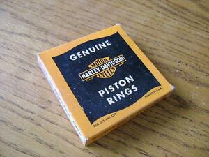 Harley Wla Piston Rings