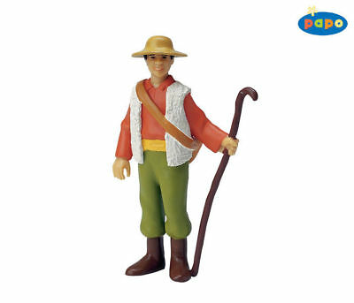 Humor Shepherd With Staff 39222 ~ Usa W Papo Items Elegant And Sturdy Package Toys & Hobbies Other Educational Toys