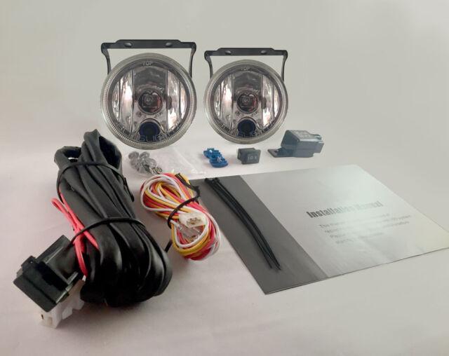 Driving//Fog Lamps Wiring Kit for Honda Prelude Isolated Loom Spot Lights